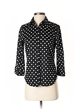 Lauren by Ralph Lauren 3/4 Sleeve Button-Down Shirt Size S (Petite)