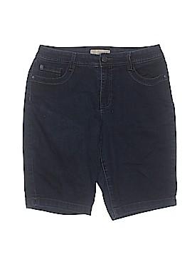 Nine West Vintage America Denim Shorts Size 10