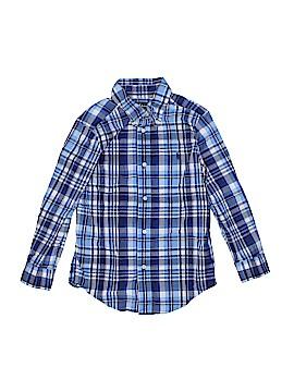 Ralph by Ralph Lauren Long Sleeve Button-Down Shirt Size 5