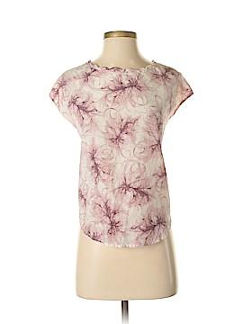 Vivienne Vivienne Tam Short Sleeve Silk Top Size S