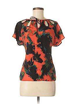 KensieGirl Short Sleeve Blouse Size M