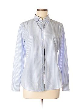 Massimo Dutti Long Sleeve Button-Down Shirt Size 42 (IT)