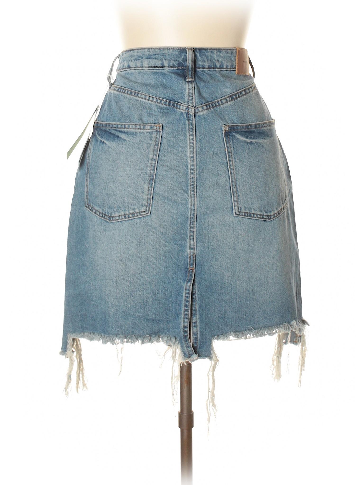 Skirt leisure amp;M Denim H Boutique qWBwHFWIn