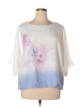 Purejill 3/4 Sleeve Blouse Size L