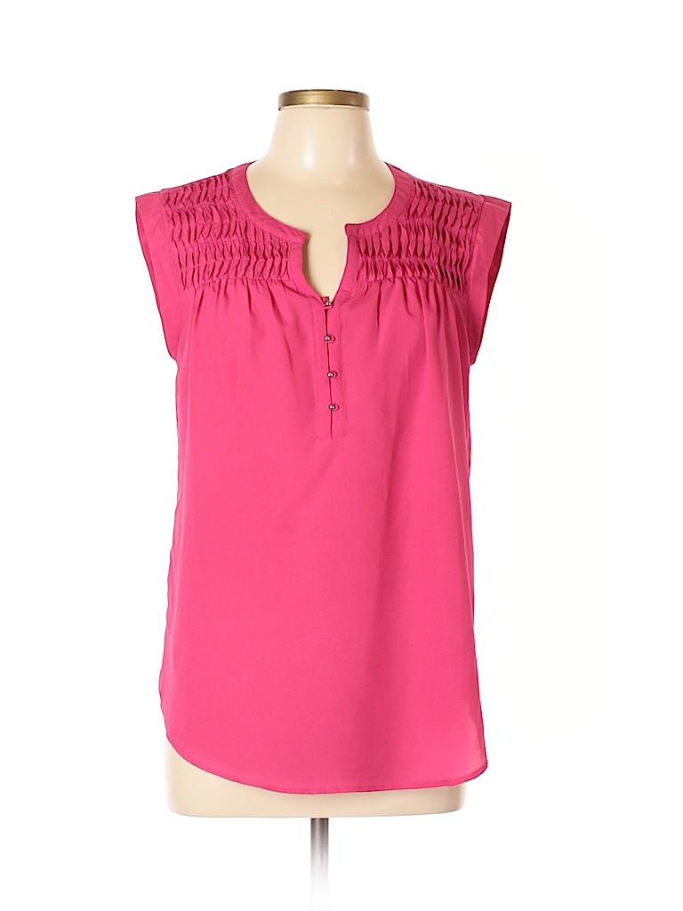 Daniel Rainn Women Sleeveless Blouse Size M