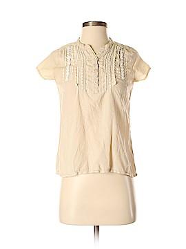 PrAna Short Sleeve Button-Down Shirt Size XS