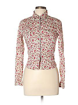 Jill Stuart Long Sleeve Button-Down Shirt Size Lg (3)