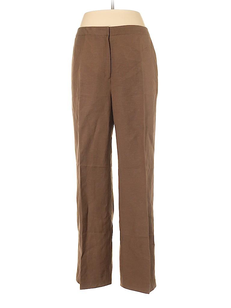 Le Suit Women Linen Pants Size 10