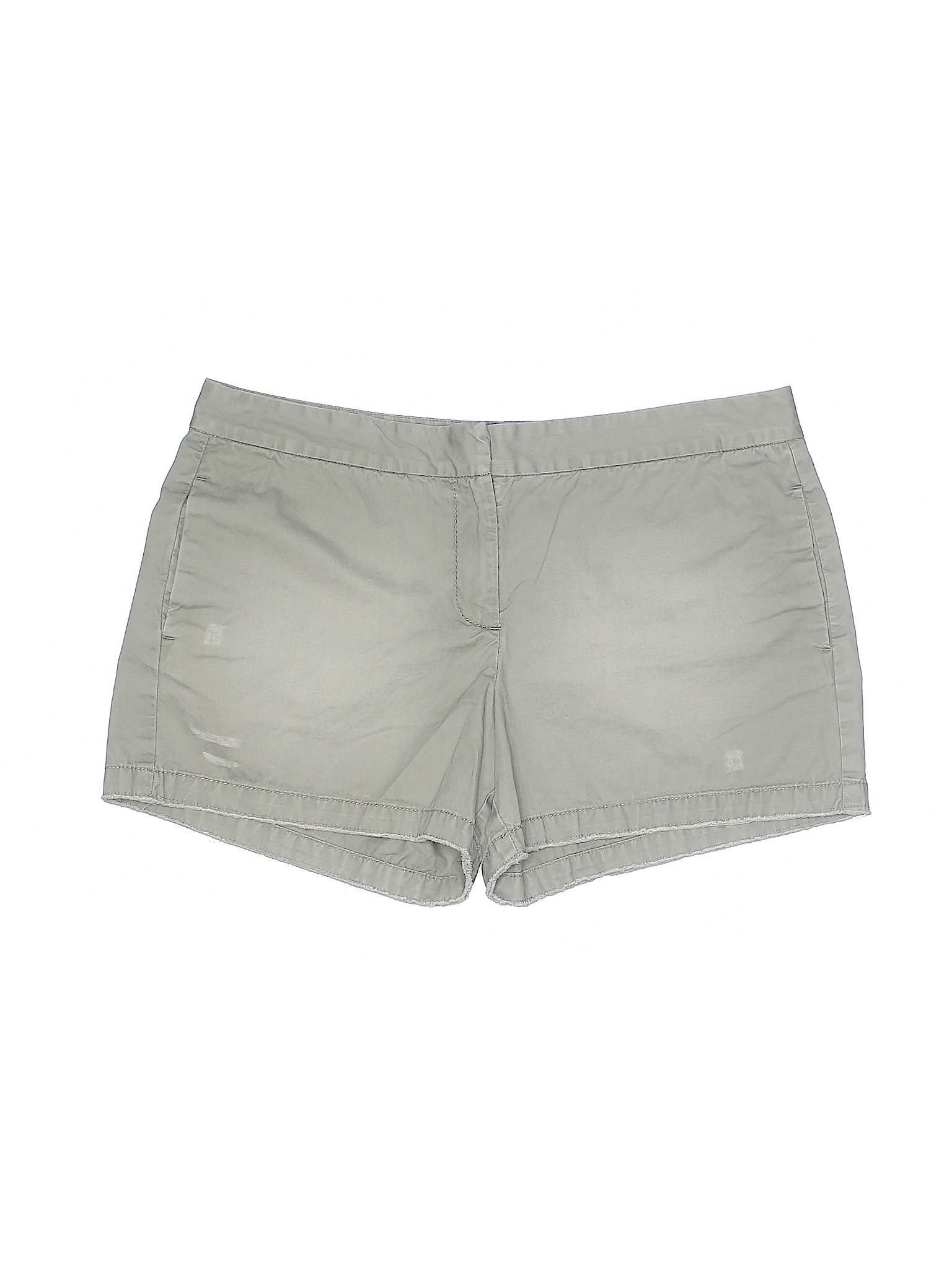 Shorts LOFT Taylor Khaki Ann Boutique U0pxvv