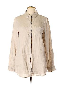 Jones New York Long Sleeve Button-Down Shirt Size L
