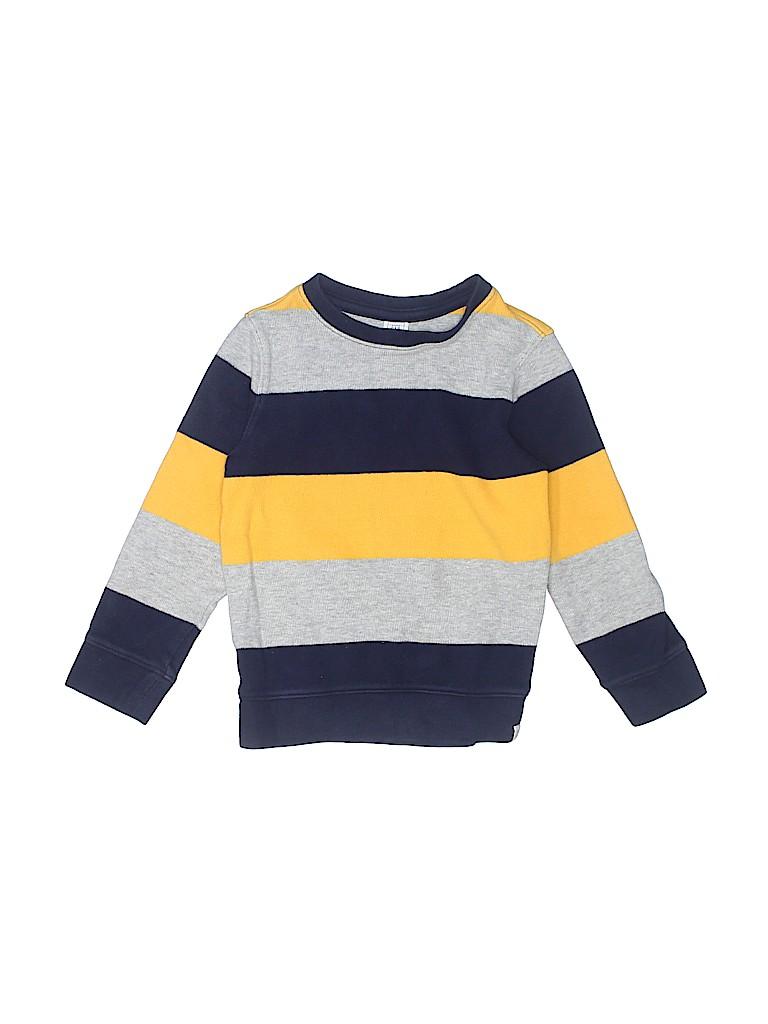 288c1af96c15 Baby Gap 100% Cotton Stripes Navy Blue Pullover Sweater Size 5 - 60 ...