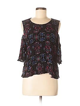 WAYF Short Sleeve Blouse Size L