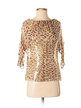 Bailey 44 3/4 Sleeve Silk Top Size S