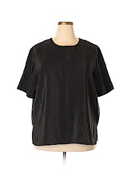 Notations Short Sleeve Blouse Size 3X (Plus)