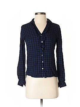 Maison Jules Long Sleeve Blouse Size XS