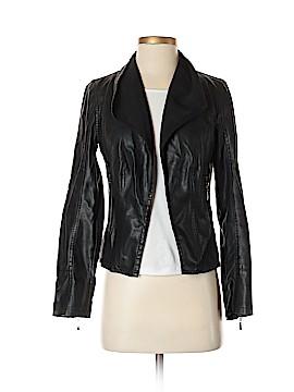 C. Luce Faux Leather Jacket Size S