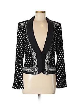 White House Black Market Silk Blazer Size 6