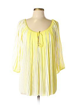 Diane von Furstenberg 3/4 Sleeve Top Size 12