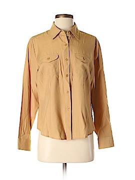 Joanna Long Sleeve Button-Down Shirt Size M
