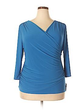 Ellen Tracy 3/4 Sleeve Top Size XL