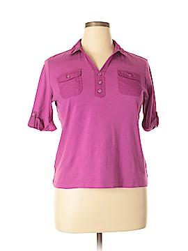 Croft & Barrow Short Sleeve Polo Size XL (Petite)