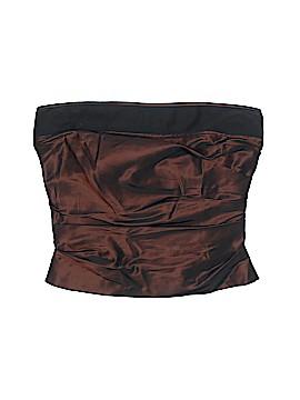 Kay Unger Sleeveless Silk Top Size 2 (Petite)