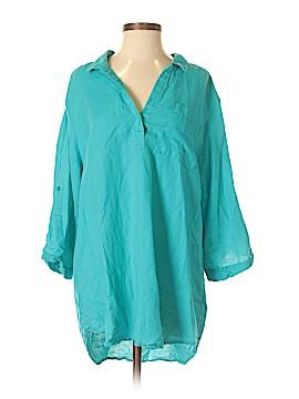 Lila Rose 3/4 Sleeve Blouse Size XL