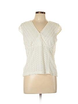 Rafaella Short Sleeve Blouse Size L