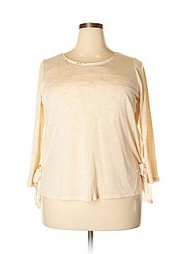 LC Lauren Conrad Long Sleeve Top Size XL