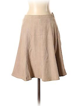 White House Black Market Leather Skirt Size 0