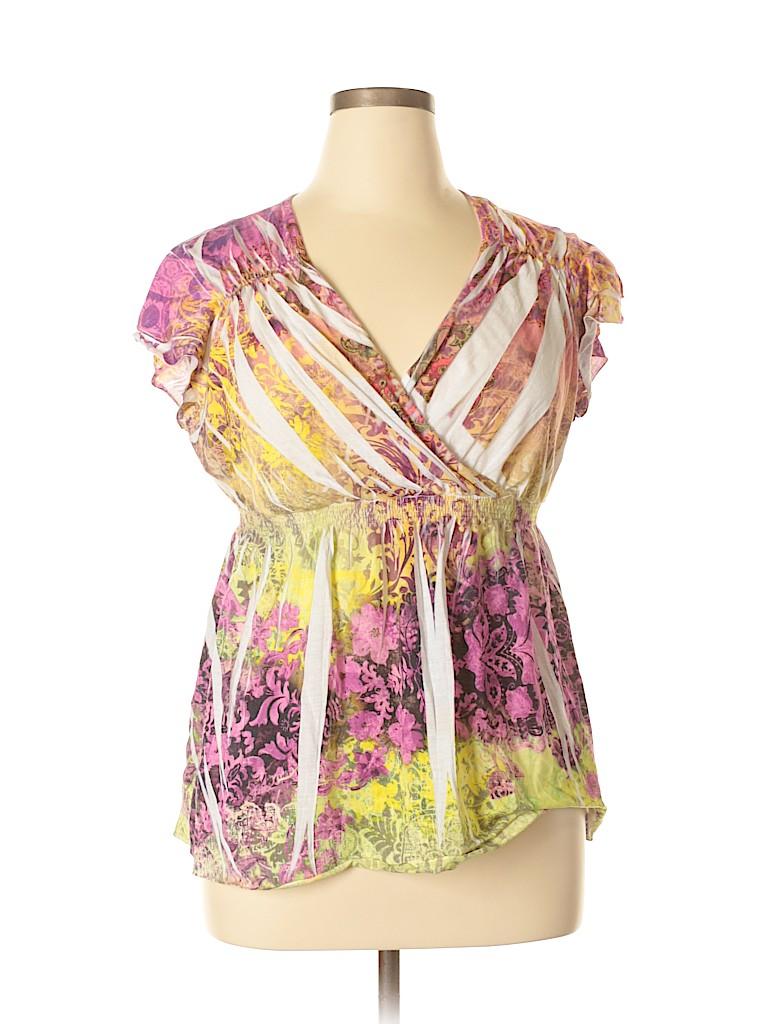 Elementz Women Short Sleeve T-Shirt Size XL