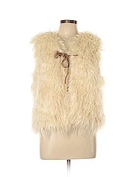 Hei Hei Faux Fur Vest Size M