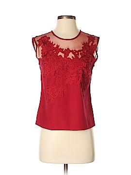 Newport News Short Sleeve Blouse Size 4