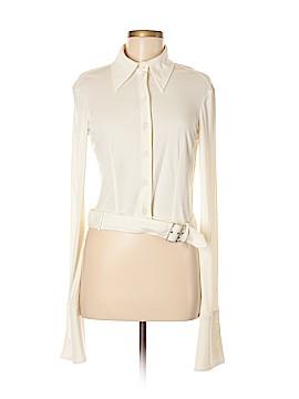 Alberta Ferretti Collection Long Sleeve Button-Down Shirt Size 8