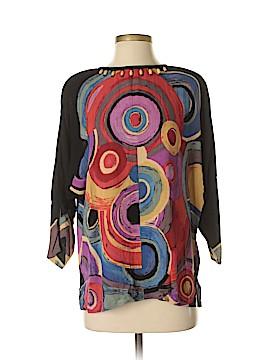 Carole Little 3/4 Sleeve Blouse Size 4