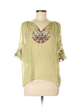 Saivana 3/4 Sleeve Silk Top Size M