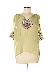 Saivana 3/4 Sleeve Silk Top