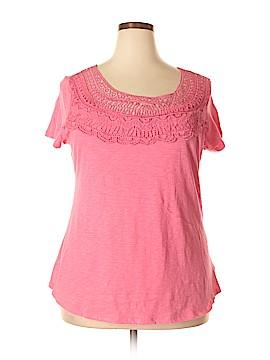Hannah Short Sleeve Top Size XL