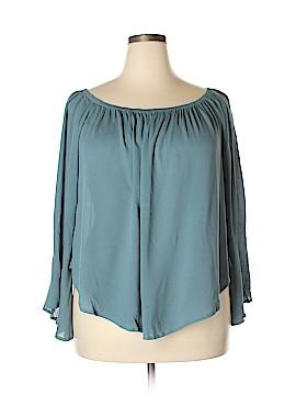 Massimo Dutti 3/4 Sleeve Blouse Size XL