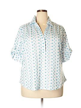 Rebecca Malone Short Sleeve Polo Size 2X (Plus)