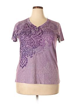 Appropriate Behavior Short Sleeve Blouse Size 16