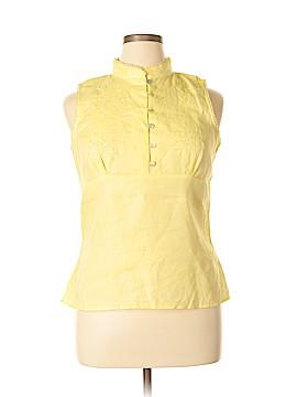 Richard Malcom Sleeveless Blouse Size XL