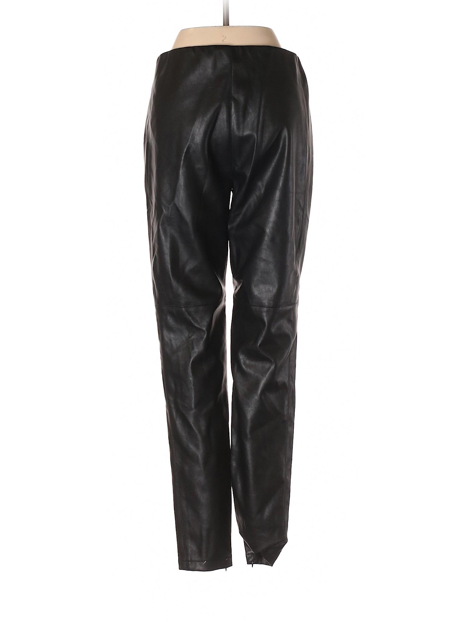 amp; winter Leisure Juliet Romeo Couture Leather Faux Pants qZgPEgT