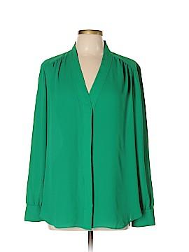 Ann Taylor Factory Long Sleeve Blouse Size XL