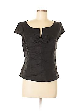 Tweeds Short Sleeve Blouse Size M