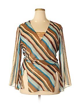 Select Long Sleeve Blouse Size 2X (Plus)