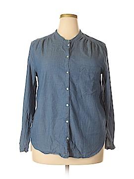 H&M Long Sleeve Blouse Size 18 (Plus)