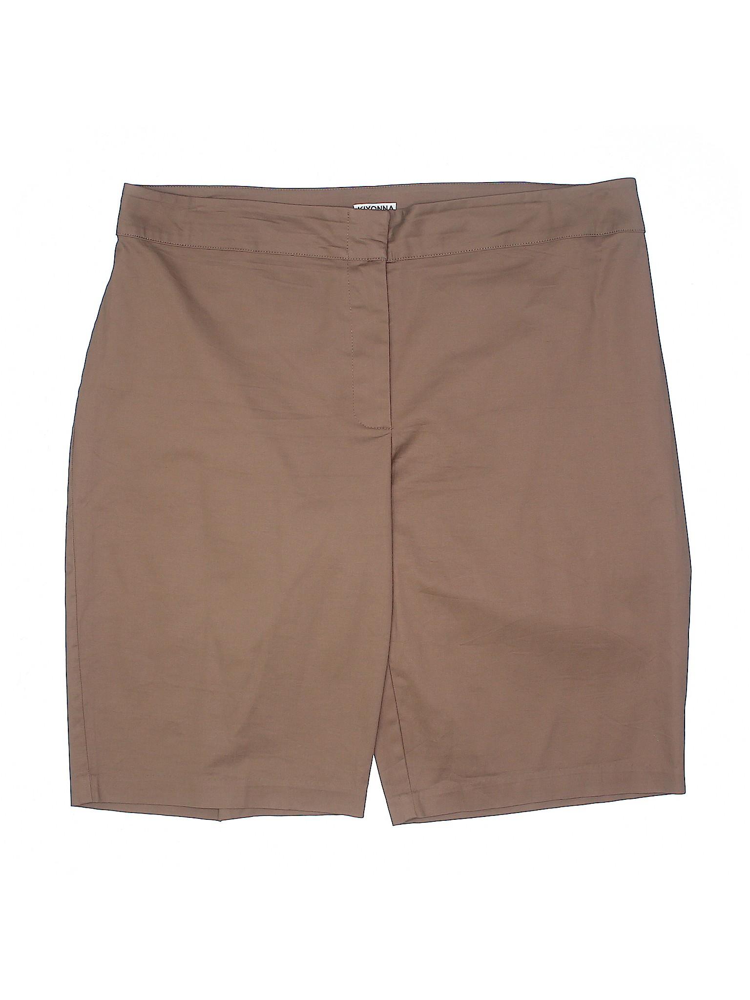 winter Kiyonna winter Kiyonna Boutique Boutique Shorts Khaki Khaki qAP5XT