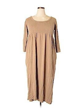 Midnight Velvet Casual Dress Size 1X (Plus)