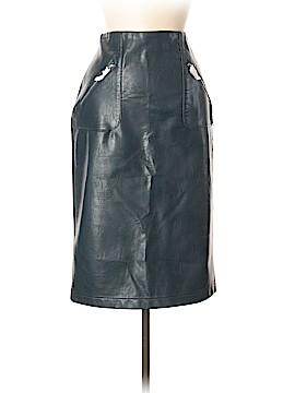Zara Basic Faux Leather Skirt Size M